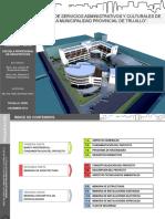 Sede de Servicios Administrativos y Culturales de La Municipalidad Provincial de Trujillo-Perú
