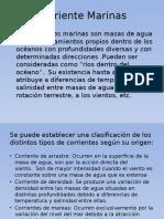 Corrientes Marinas en El Perú
