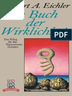 Norbert a. Eichler - Das Buch Der Wirklichkeit - Das I Ging für das Wassermann-Zeitalter