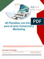 40 Plantillas en Excel Para El Area Comercial y Marketing