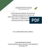 Software Para El Analisis de La Velocidad de Corrosion