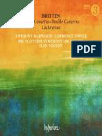 Britten - Violin Concerto, Double Concerto, Lachrymae Lawrence Power