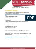 8va Convocatoria Alianza Del Pacífico-colombia - Guia Unmsm
