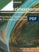 Hanscarl Leuner - Halluzinogene, Psychische Grenzzustände Forschung und Psychotherapie
