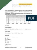 Sesión 3 Invop2 - Casos Especiales de Programación Binaria - Ejercicios (Solución)