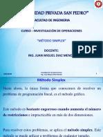04 y 05 2016-04-20 y 27 Metodo Simplex - Solución Algebraica