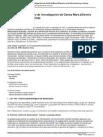 Herramienta - El Programa Cientfico de Investigacin de Carlos Marx Ciencia Social Funcional y Crtica
