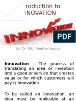 Introduction to INNOVATION