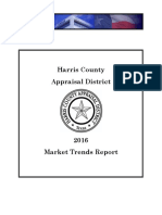 Harris County Appraisal District Market Trends Report