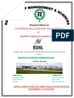 BSNL Project MBA Nitish