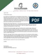 letter of rec from buesch