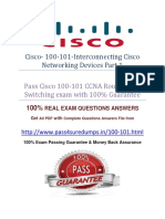 Pass4sure 100-101 Dumps