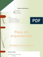 PresentacionExposicionEquipo5 Paso de Argumentos