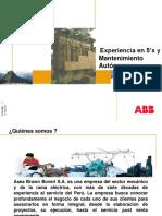 2 Experiencia en 5S y Mantto Autonomo ABB SA