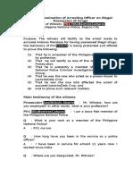 Direct Examination-BuyBust (Draft)