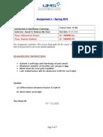 Assignment CS 101