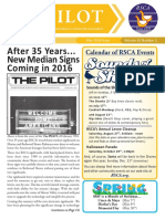The PILOT -- May 2016