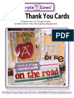 Teacher Thank You Cards by Robin Gibson