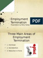 employment termination