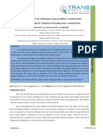 7. Ijasr - Determination of Stiffness and Damping Coefficient Of