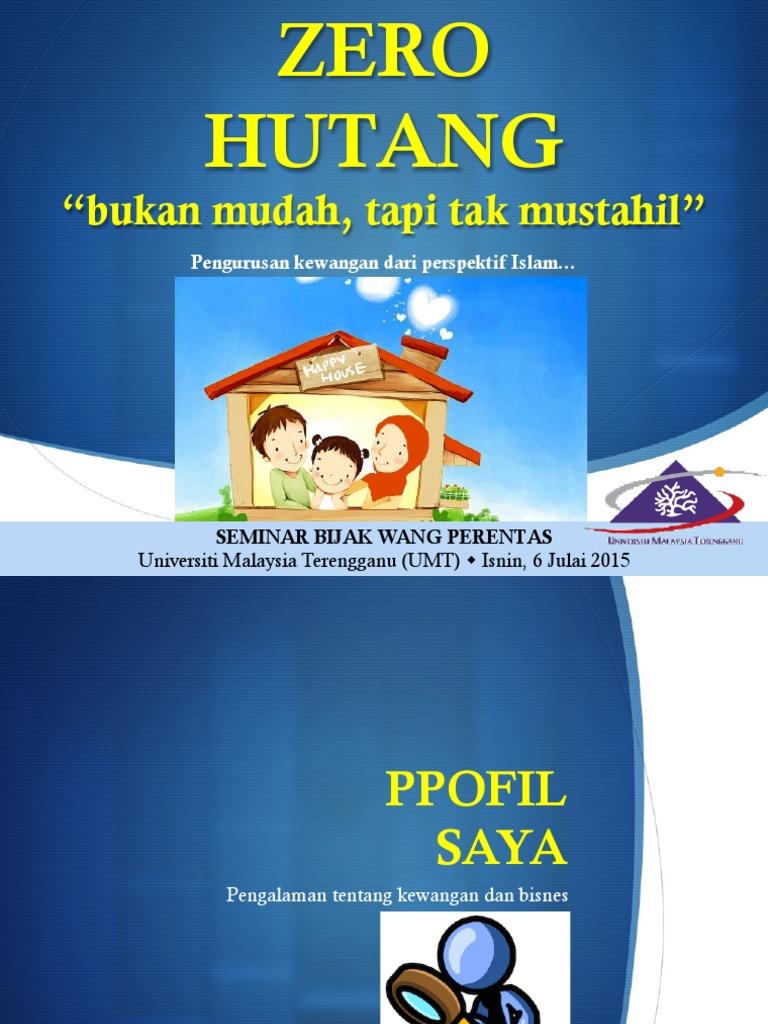 Slide Zero Hutang Umt