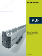 Linear Encoders for Numerically Controlled Machine Tools