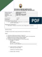 APPDX G.1  - Lab6 CLI