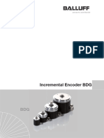 Incremental Encoder BDG series 6360/6310