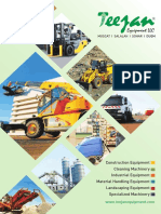 Teejan Equipment LLC PDF