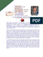 InVitroFertilization IVF KP Analysis