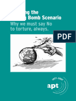 Association for Prevention of Torture, Defusing the Ticking Bomb Scenario Why We Must Say No to Torture, Always,.pdf