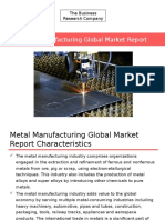 Metal Manufacturing Global Market Briefing Report 2016_sample