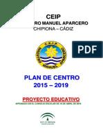 Proyecto Educativo Ceipmmaparcero 2015-2019