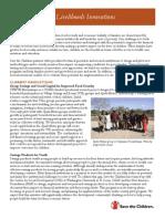 Livelihoods Innovations Fact Sheet Final 6.12.09