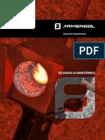 201601 Armengol Soldadura Aluminotérmica Catálogo 2016