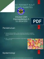 PPT manifestasi penyakit kulit pada pasien DM.pptx