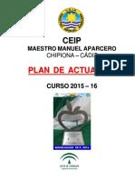 0 Plan de Actuacion Del Centro 2015-16