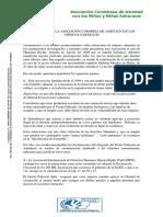 RESOLUCIÓN ASOCIACIÓN CORDOBESA DE AMISTAD CON LOS/AS NIÑOS/AS SAHARAUIS SOBRE EL SECUESTRO DE MUJERES SAHARAUIS Y LA POSTURA DE FANDAS-SAHARA Y EL FRENTE POLISARIO