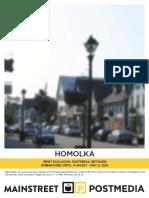 Mainstreet Homolka poll May 5