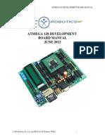 ATMEGA 128 Development Board