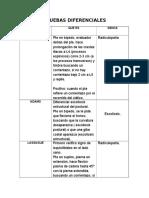 PRUEBAS DIFERENCIALES-DERMATOMAS
