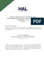 Etude expérimentale et numérique d'une thermofrigopompe de petite à moyenne puissance à équilibrage sur air
