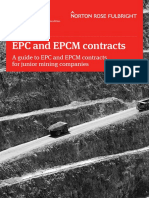 Mining Guide Epc and Epcm Contracts 104178