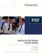 Oil & Gas UK Guidelines on Risk Related Decision Making - Issue 2 July 2014