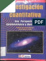 Investigacion Cuantitativa una Perspectiva Epistemologica y Metodologica
