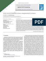 Active Control of Building Structures Using Piezoelectric Actuators