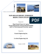 Non Road Diesel Study Crack