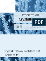 Yield Crystallization Problem