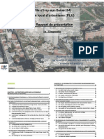 Rapport de Presentation - Diagnostic