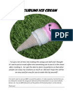 Ice Cream Pattern PDF